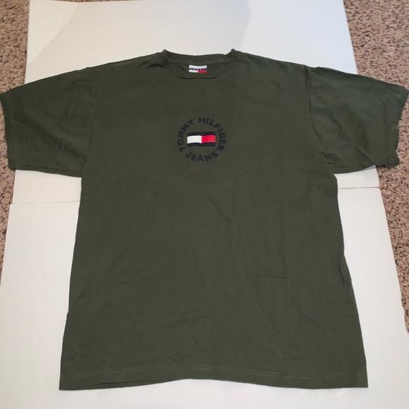 Tommy Hilfiger Other - Vintage Tommy Hilfiger T-shirt spell out bug flag